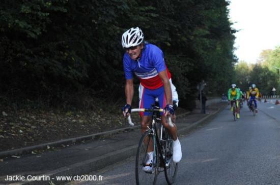 Bernard Condomines un champion de France