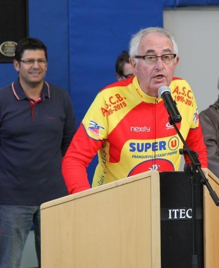 """Le discours de Papi Vélo..."""" Robic  Bonsecours 2016"""""""