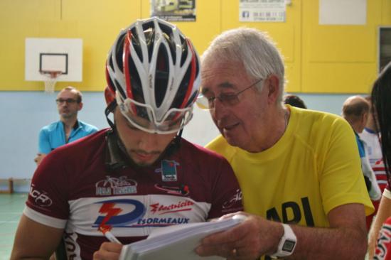 Robic 2017 ...Papi Vélo avec Grégoire...1er de la côte