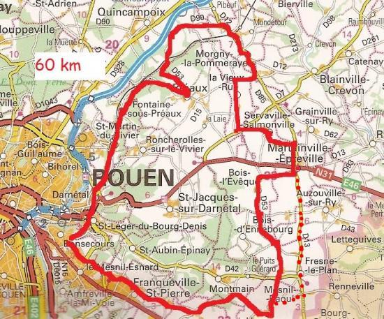 Mes parcours 60 km 2