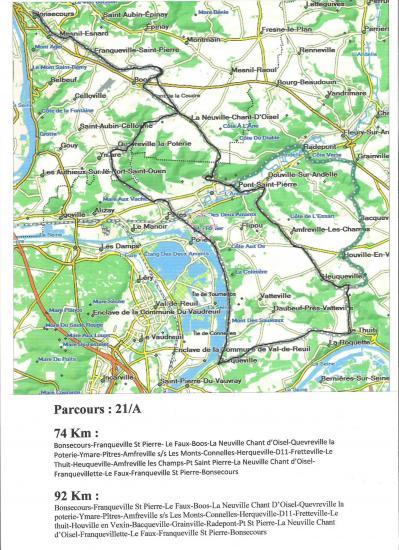 Parcours 21 a 74 et 92 km 001